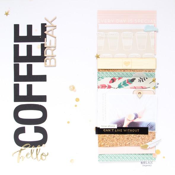 Coffeebreak scrapbooking layout scatteredconfetti gossamerblue july 1 original