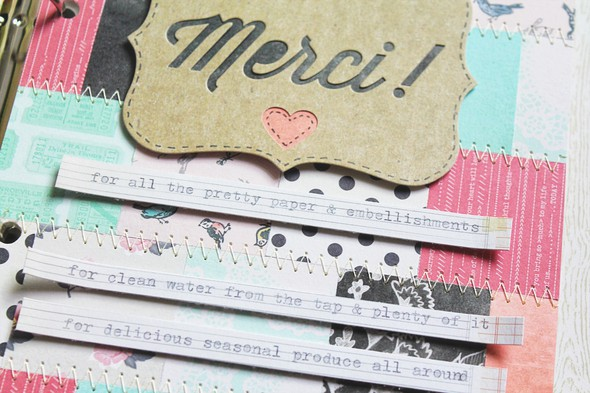 Art journal 6 merci top