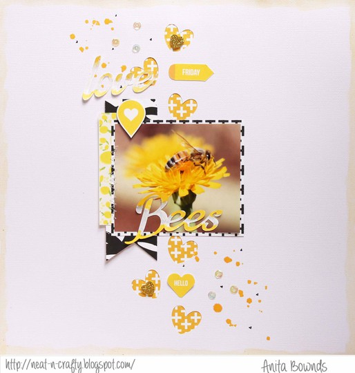 Love bees   anita bownds march 2014 studio calico shape challenge (1)