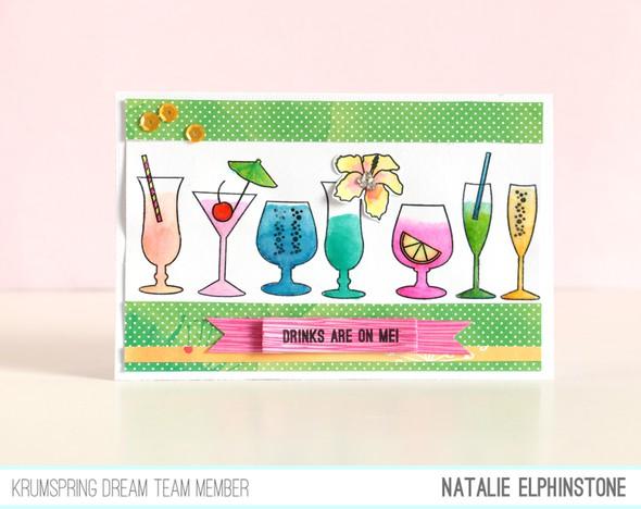 Drinks card by natalie elphinstone original
