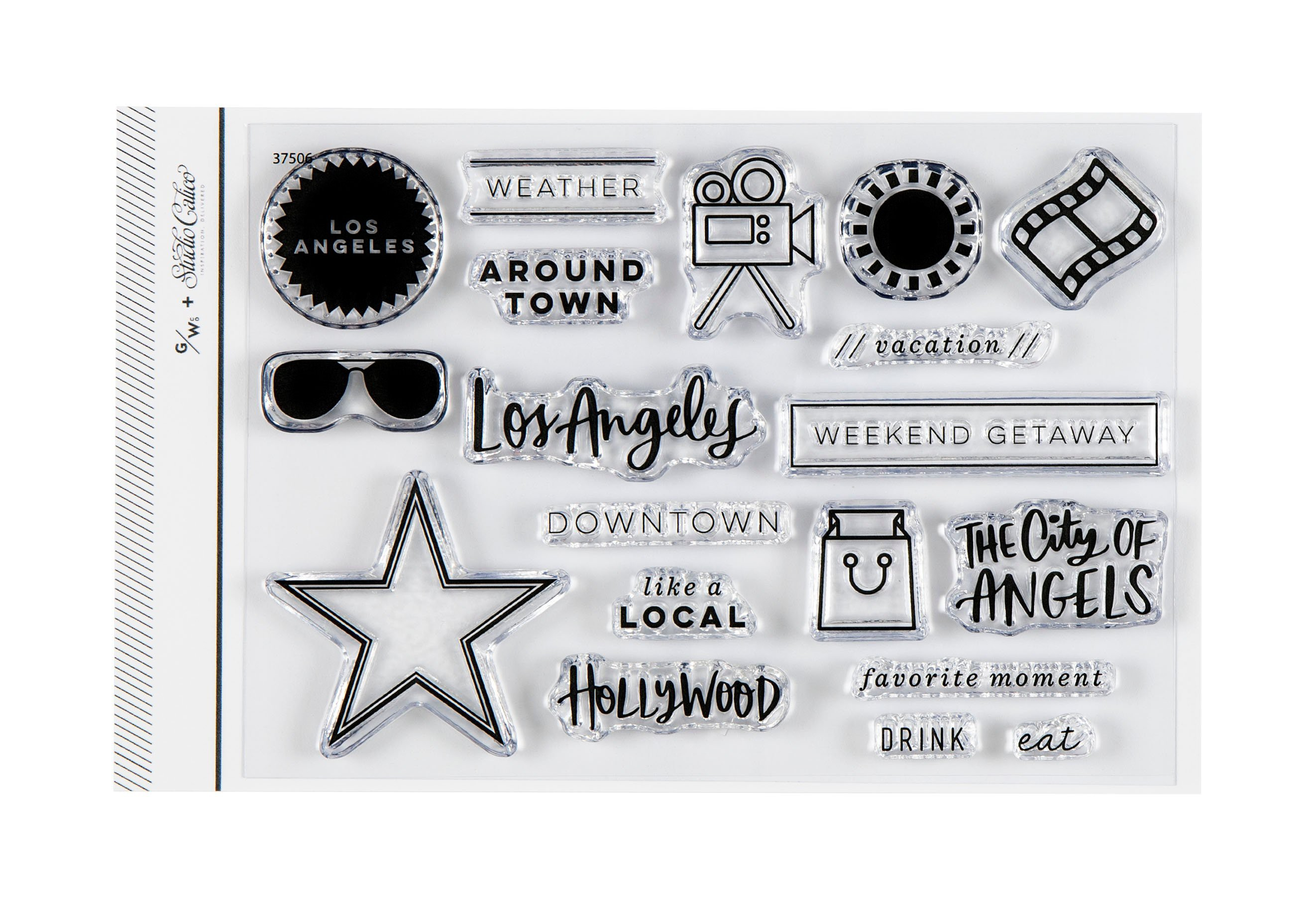 Stamp Set : 4x6 Los Angeles by Goldenwood Co