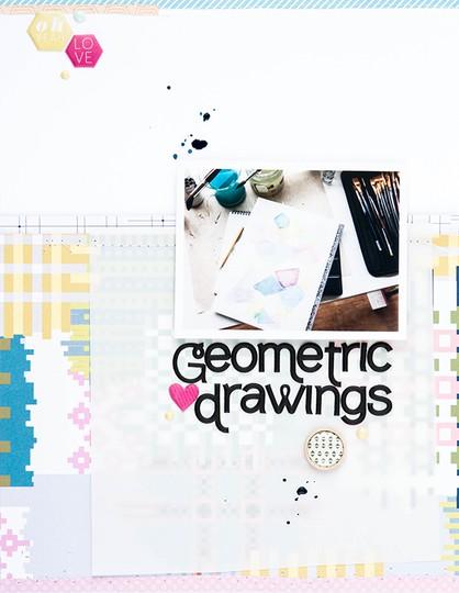 Geometric drawings marivi original