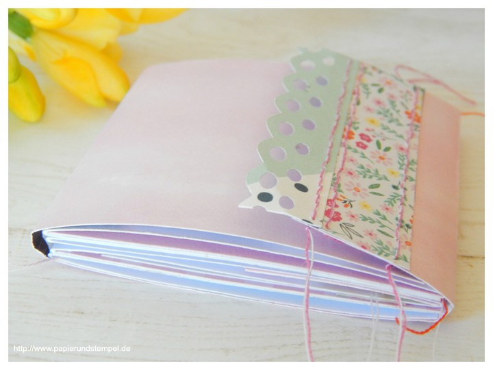 Papierundstempel geschenkset minialbum memory keeping pink paislee paige evans oh my heart scrapbook werkstatt papierprojekt 2 300517 original