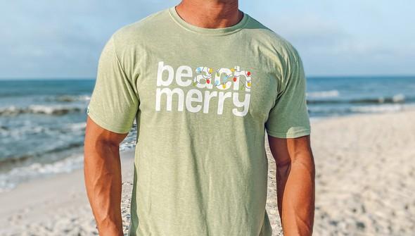 118871 beach merry lights short sleeve tee  men seagreen slider2 original