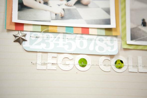 Lego collectors closeup