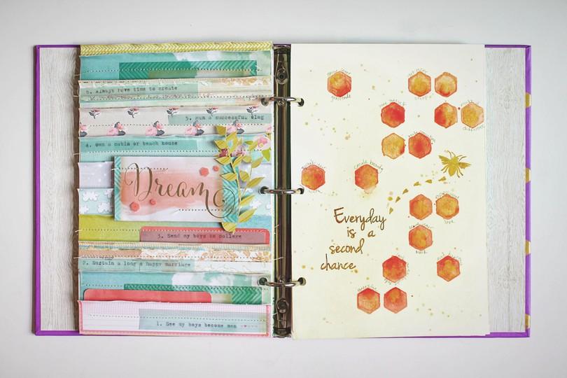 Art journal 3 spread