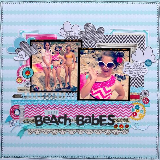 Beach babes new