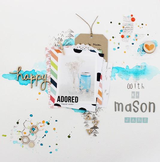Lo happy with my mason jars 01