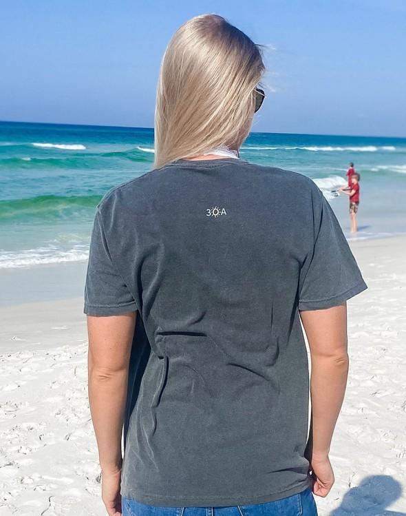 154087 simple beach happy comfort colors short sleeve tee pepper women slider 4 original
