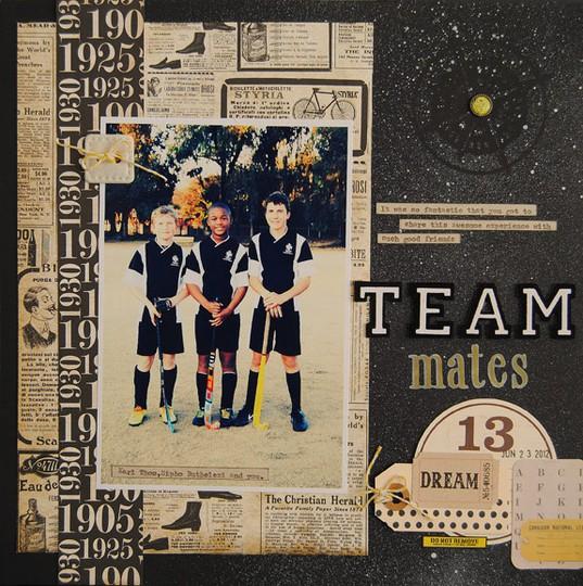 Sketch   8 team mates