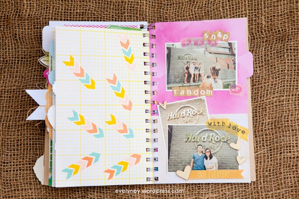 Bali honeymoon day book inside 13 by geekgalz evelynpy
