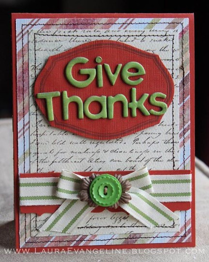 Givethanks lauraevangeline