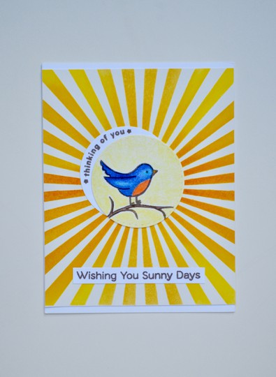 Sunny day bird original