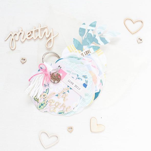 In the scrap april challenge flowers mini album nikki kehr nimena %25281 von 7%2529 700 original