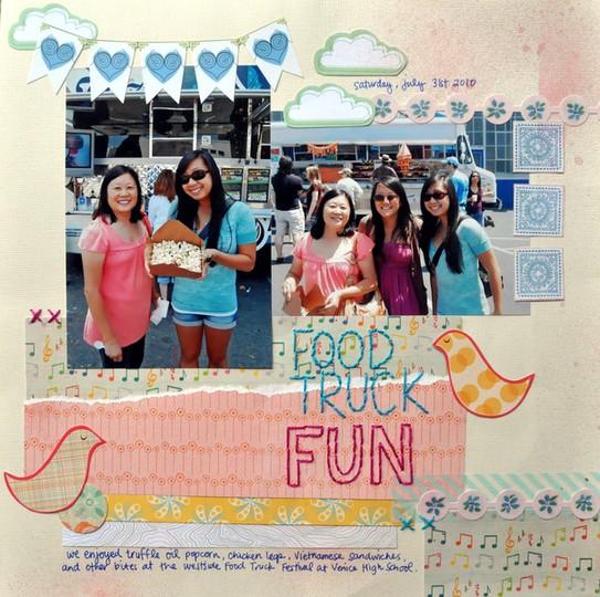 Food truck fun 073110