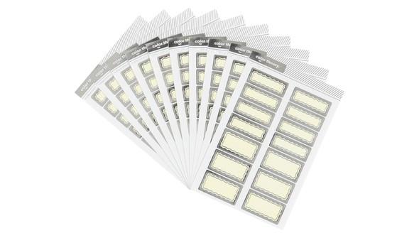 105761 4x6colortheorylabelstickerplatinumstatusscallop10pack slider original