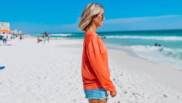 152533 beach happy%25c2%25ae long sleeve sun shirt women coral slider2 original