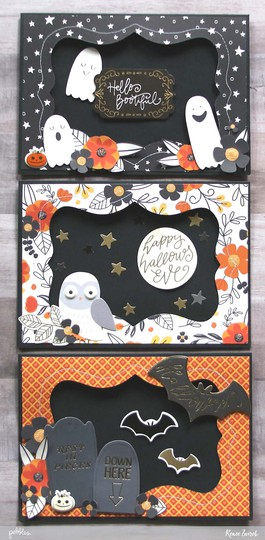 Bootiful halloween cards 1 original