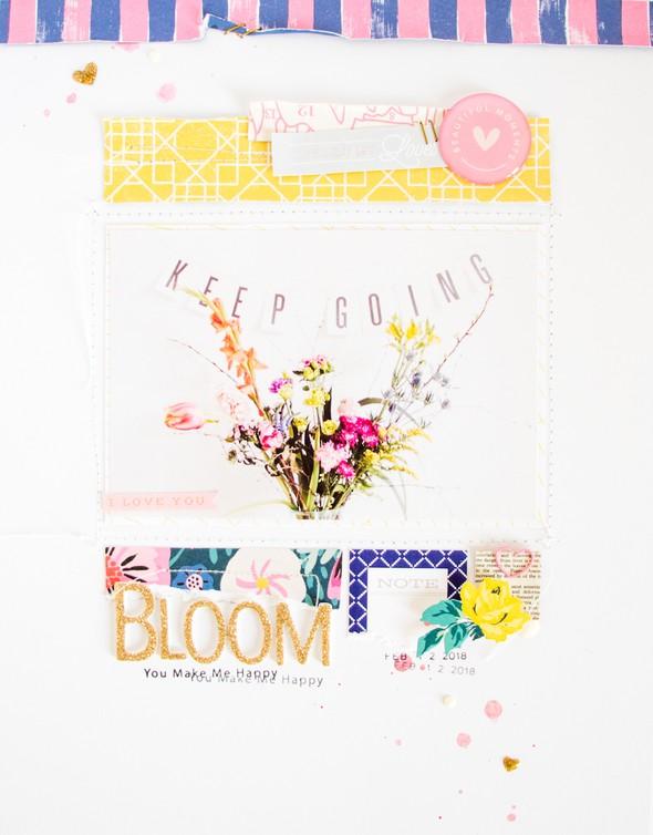 Bloom scatteredconfetti scrapbooking layout citrustwistkits february cratepaper 0 original