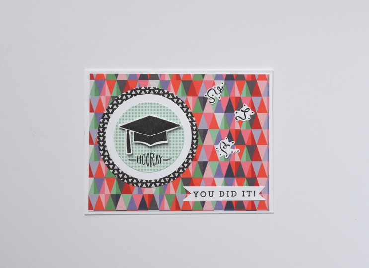 You did it graduation card original