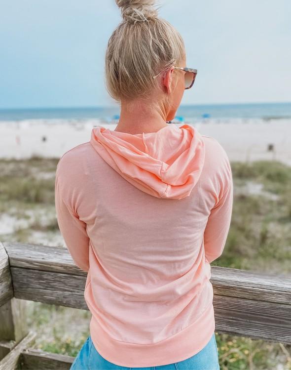 187797 beachstrongpulloverhoodiewomenpeach slider3 original