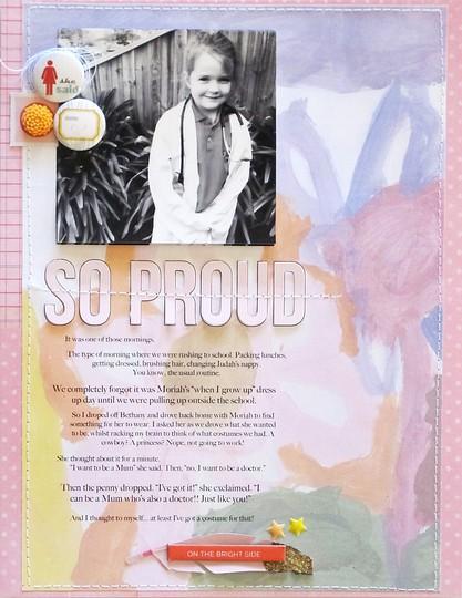 So proud by natalie elphinstone original