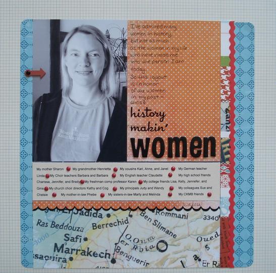 History making women