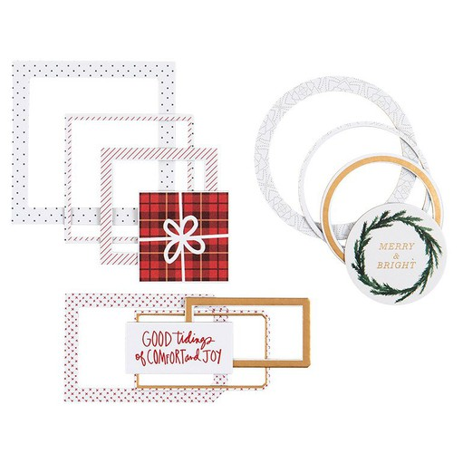 Picture of December Daily® 2021 Large Nested Chipboard