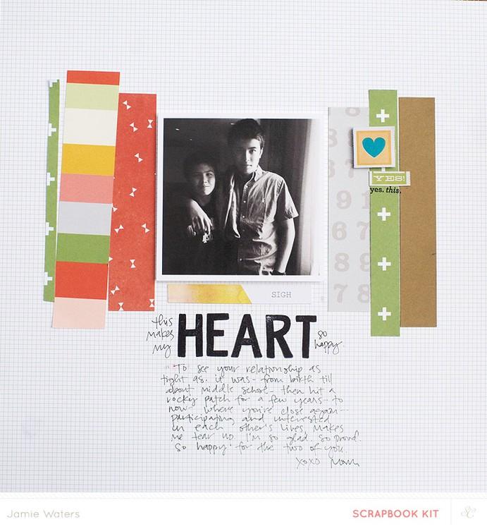 Jw sketch heart