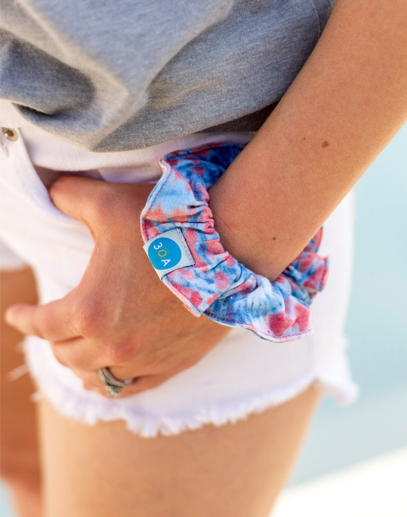 Usa tiedye scrunchie original