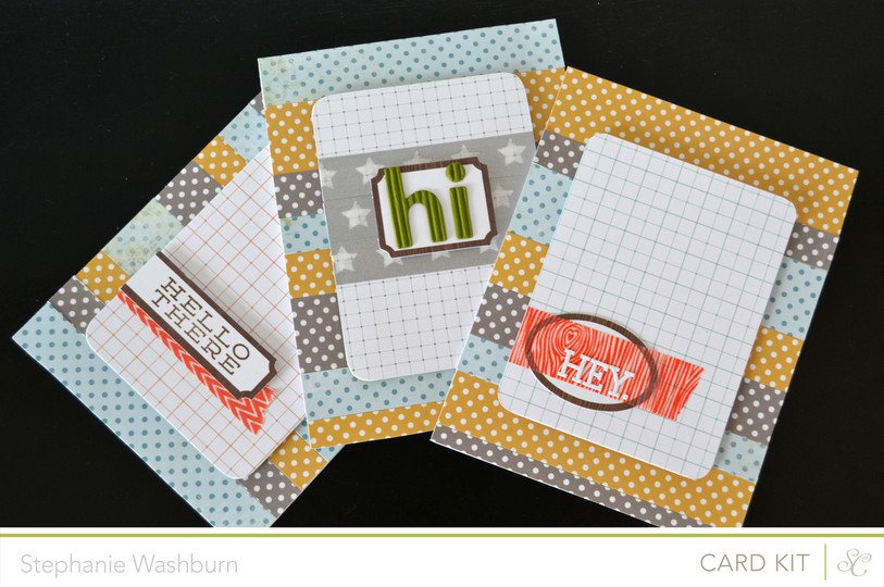 Hey notecard set