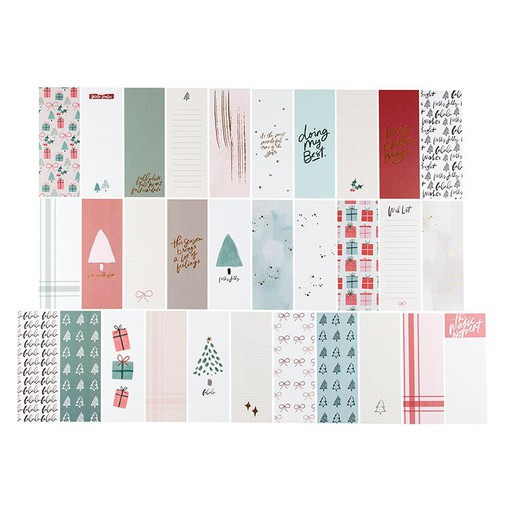 Picture of December Daily® 2020 3x8 Journal Card Set