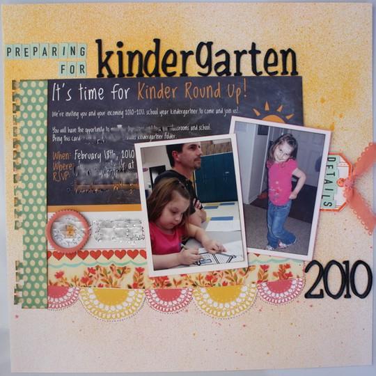 Preparing for kindergartena