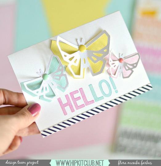 Hello butterflies hkc original