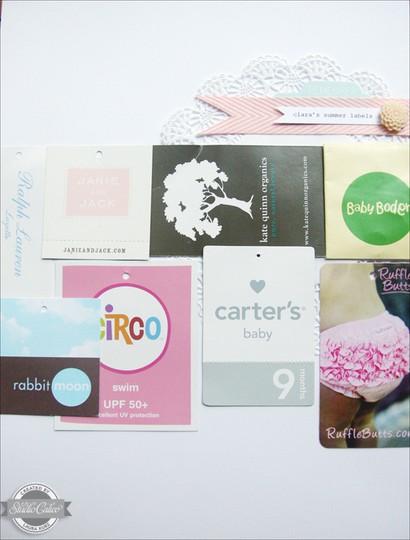 Claras summer labels