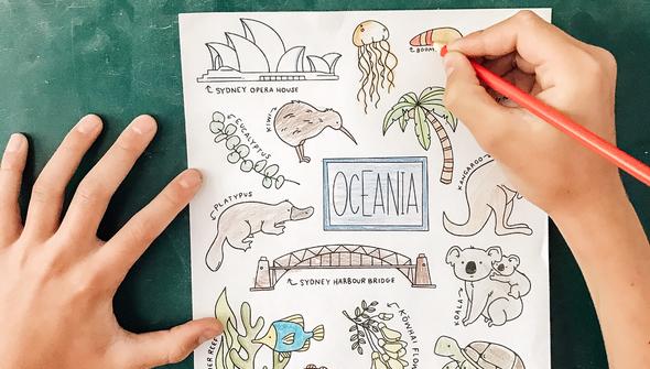 Oceania collage chalkboard copy original