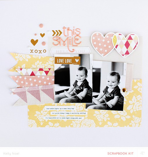 This smile   studio calico camelot kit   kelly noel