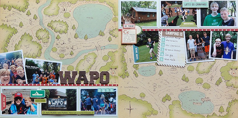 Camp wapo d by jennifer larson original