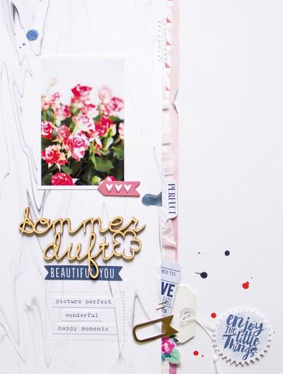 Sommerduft scatteredconfetti scrapbooking layout cocoavanilla wildatheart pinkfreshstudio 1 original