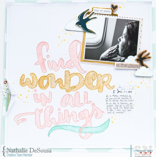 Sn nathalie desousa find wonder in all things 2 original