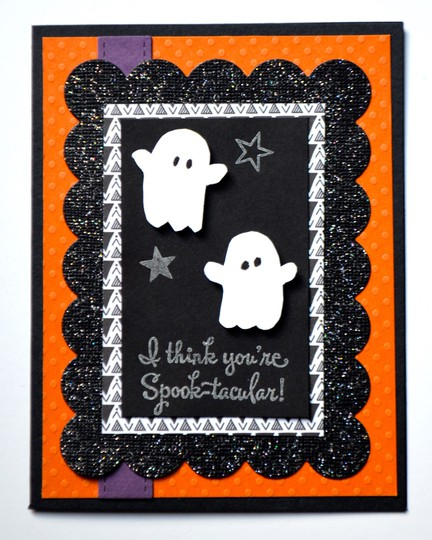 Halloween spooktacular card original