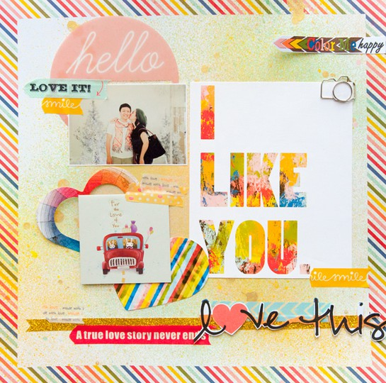 I like you full page by evelynpy