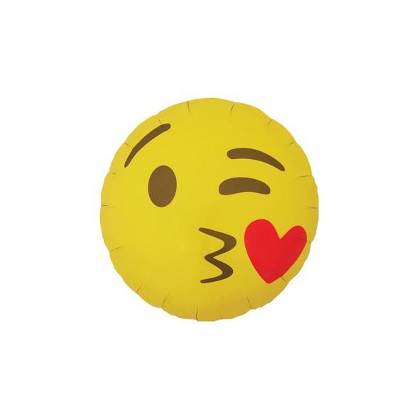 Emoji template 0004 emoji kissy face original