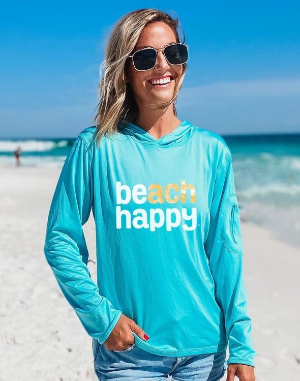 152539  beach happy hooded sun shirt seafoam women slider 4 original