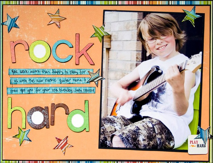 Rock hard web