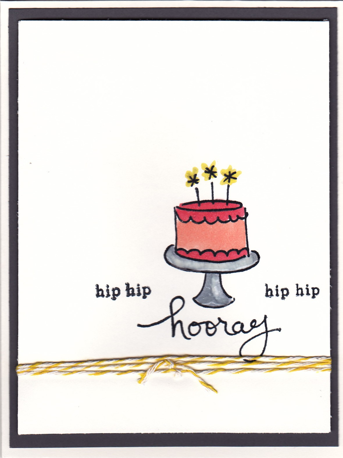Layered birthday card original
