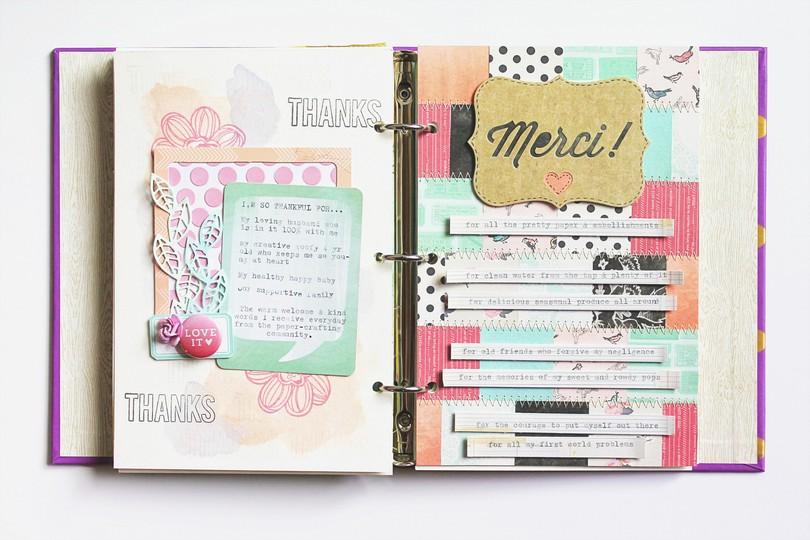 Art journal 6 spread