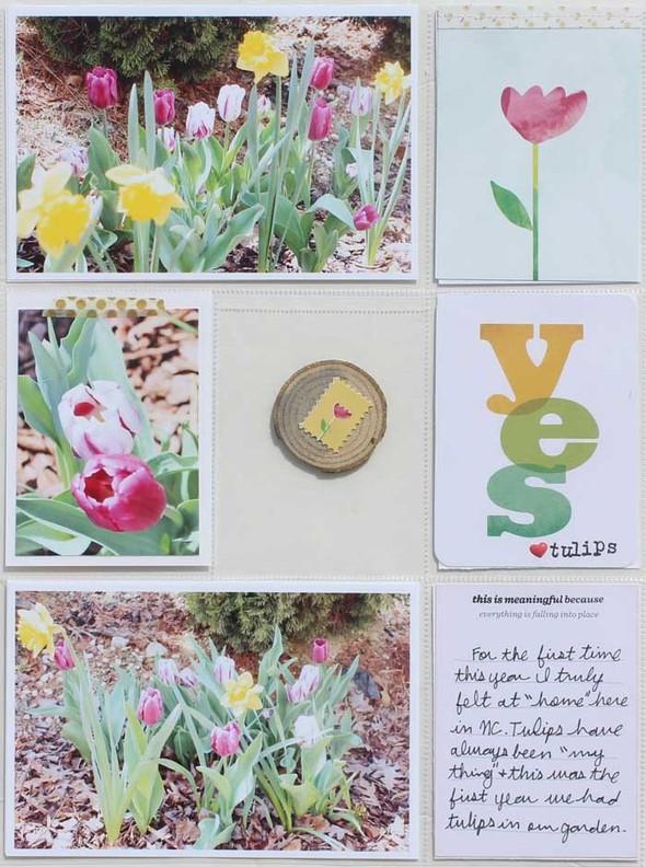 Aprilflowers left