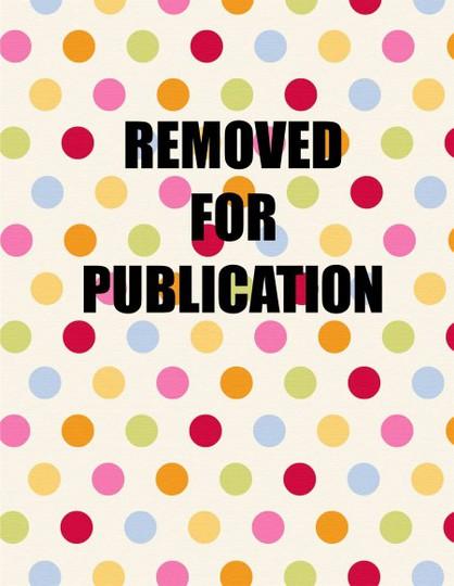 Removed for publication polka dot
