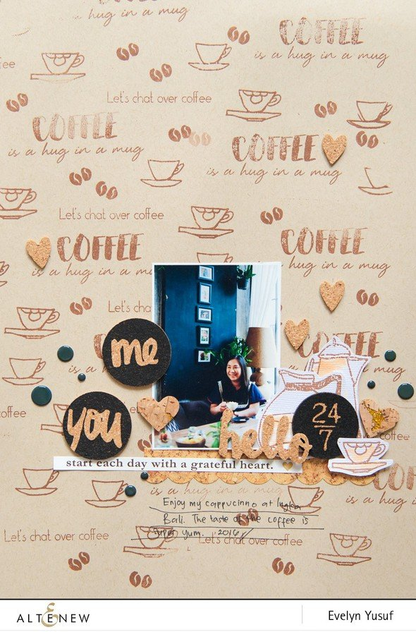Coffee talk full layout by evelynpy original